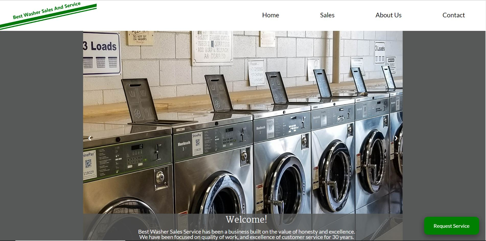 Best Washer Sales and Service Website